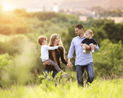 Rodinné prechádzky v prírode