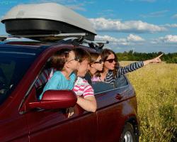 Rodinné cestovanie autom
