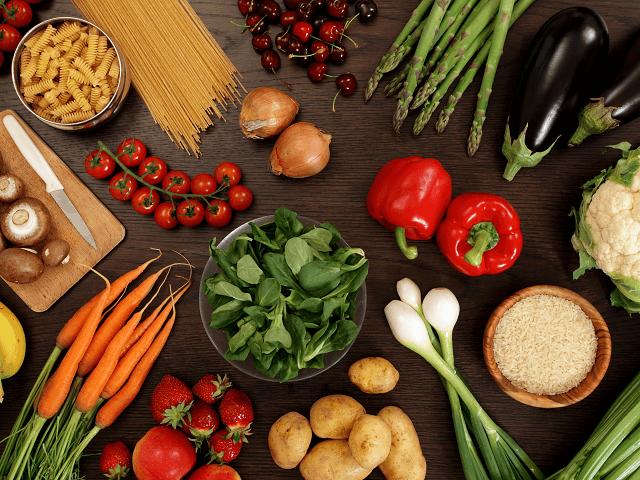 Zdravé ovocie a zelenina